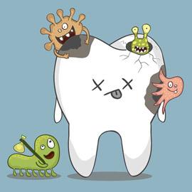 Cura della carie: sapere dove la patologia attacca il dente